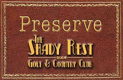 Preserve the Shady Rest Logo