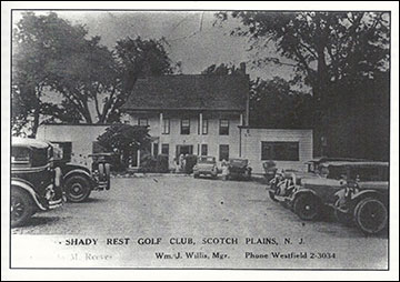 Vintage photo of the Shady Rest Country Club